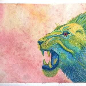 Mélissa Charrier – Le cri du lion
