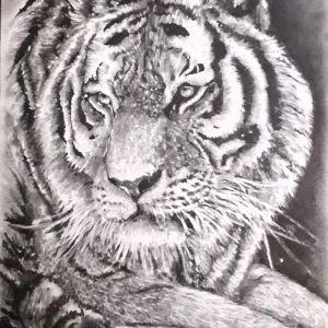Chrispicture Stud'Art – L'instinct du chasseur