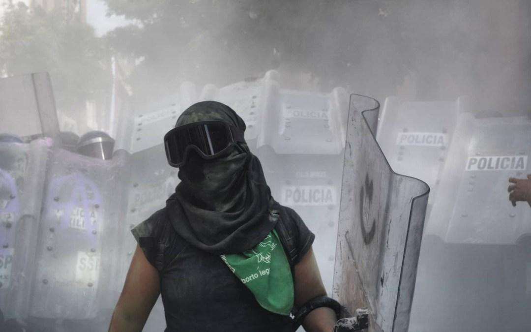 ¿Cómo es cubrir las marchas feministas en México?