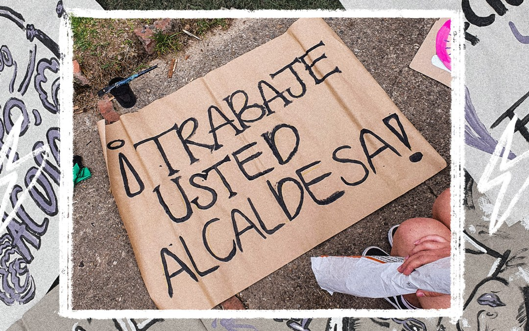 TRABAJE JUICIOSA USTED, ALCALDESA