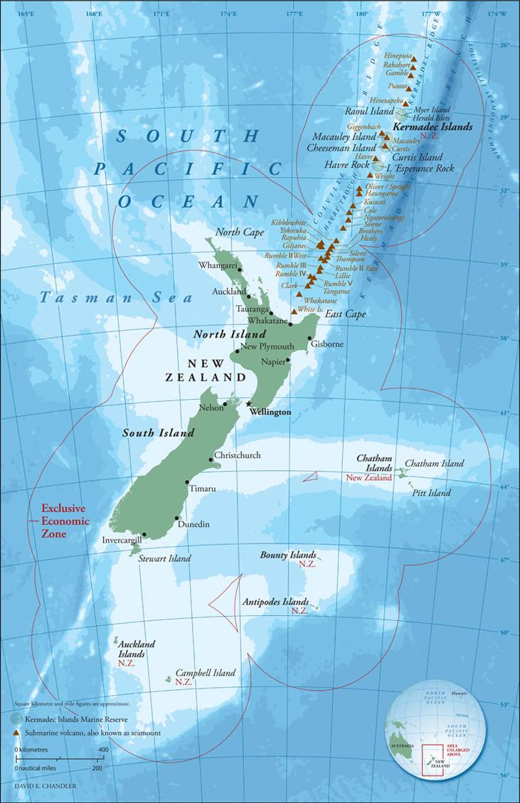 Global Volcanism Program Havre Seamount