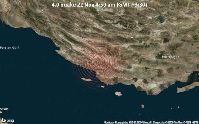 4.0 quake 22 Nov 4:50 am (GMT +3:30)