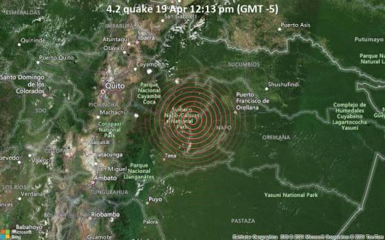 4,2 gempa 19 Apr 12:13 (GMT -5)