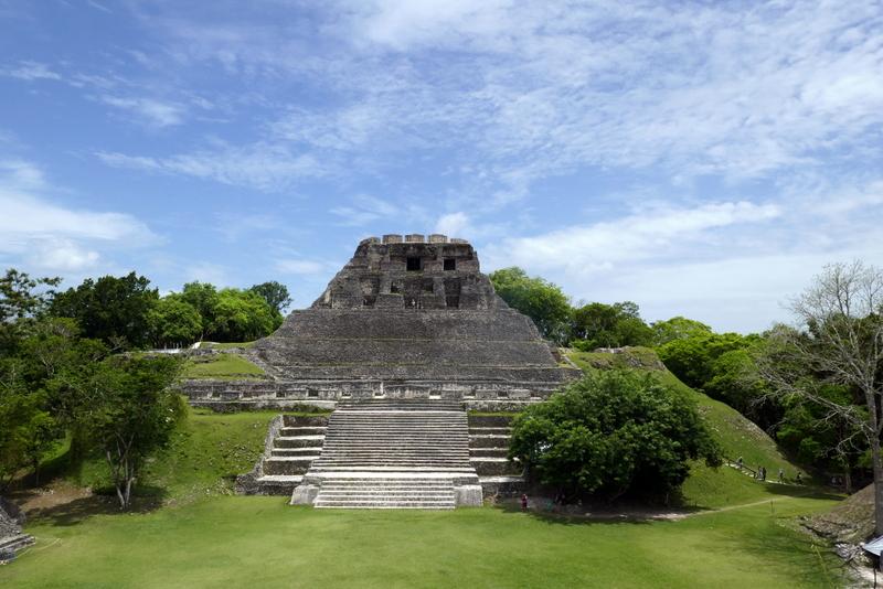 El Castillo temple in Xunantunich, Belize