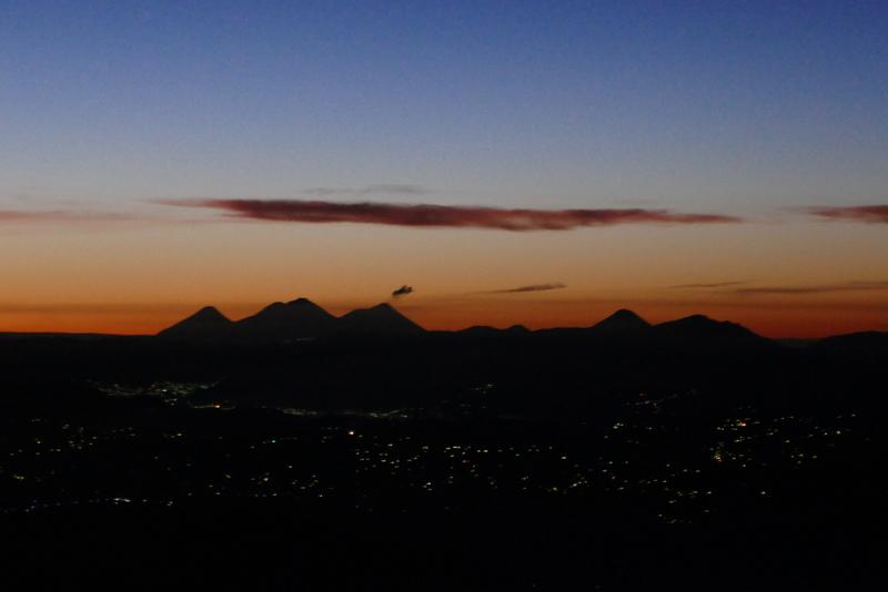 The sunrise view from Tajumulco.