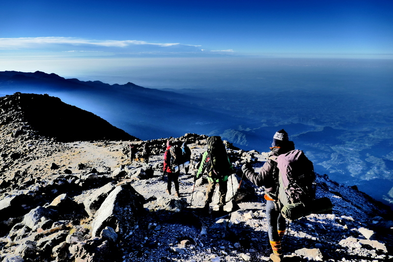 Climbing Tajumulco, Central America's highest mountain