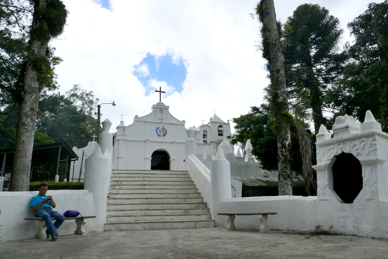 El Calvario Church in Cobán, Guatemala.