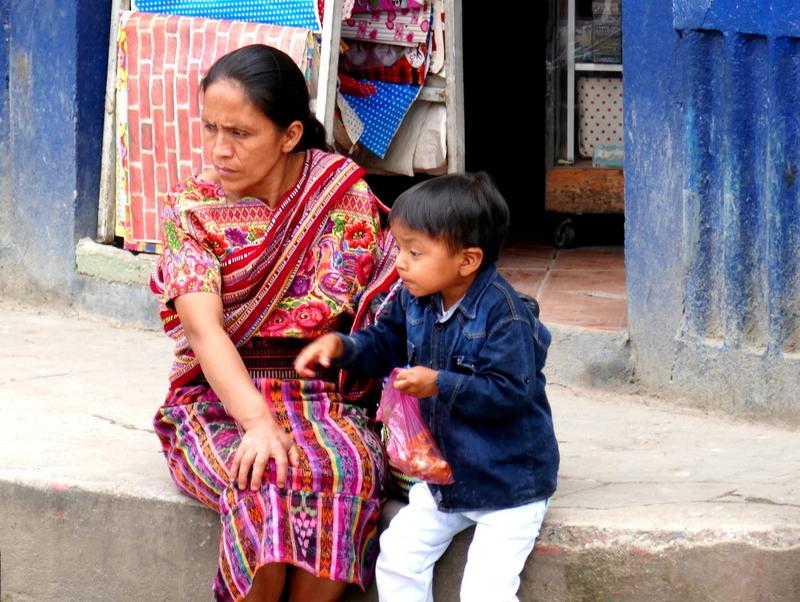 Ixil Maya lady in Nebaj