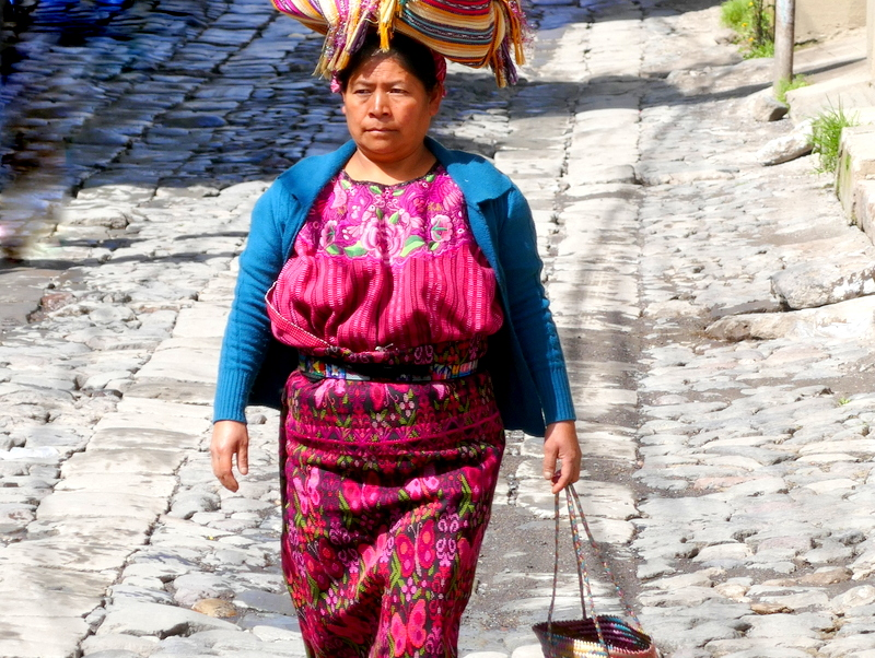 Maya lady in Zunil near Xela