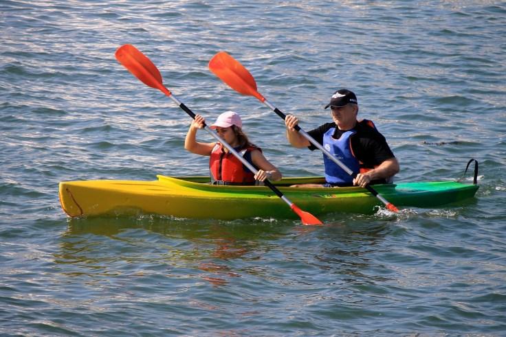 Actividad de kayak en Montanejos