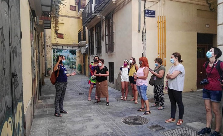 Visita guiada al centro histórico de Valencia
