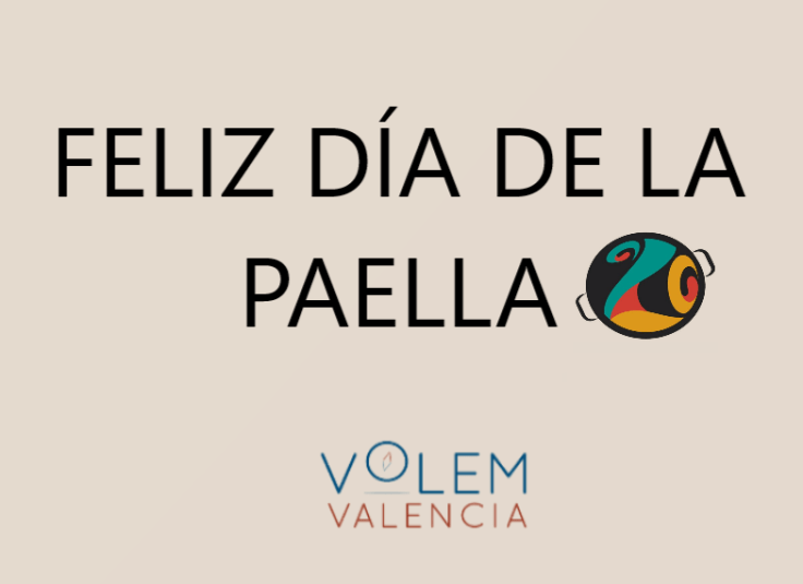 Enjoy the day of paella