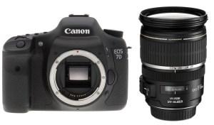 Canon EOS 7D et le 17-55