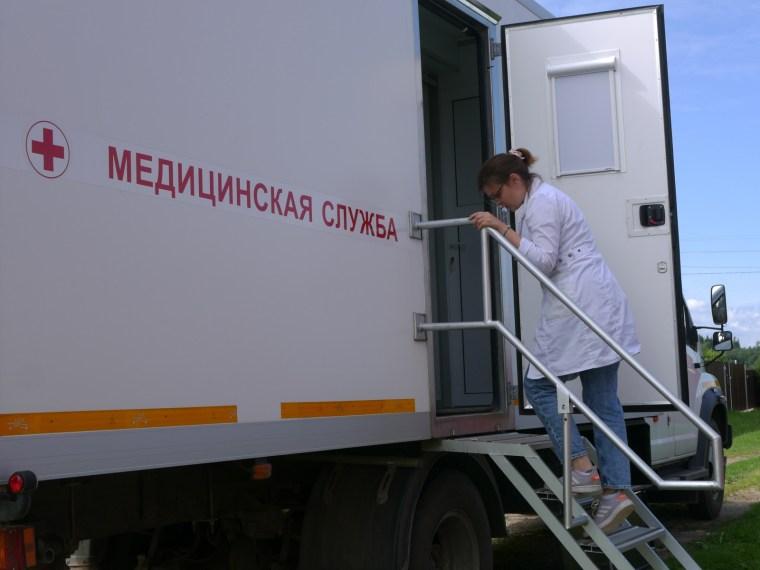 Жители деревень Вельцы и Кирилловка проверили своё здоровье