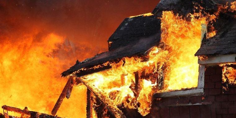Снова пожар в Пупышево