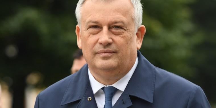 Глава региона отправляется в Волховский район