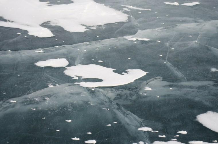 Область предупреждает об опасности провалов под лёд