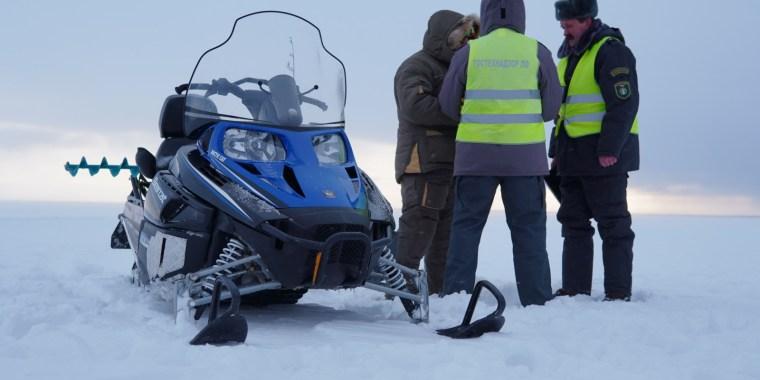 На Ладожском озере прошла операция по поимке нарушителей
