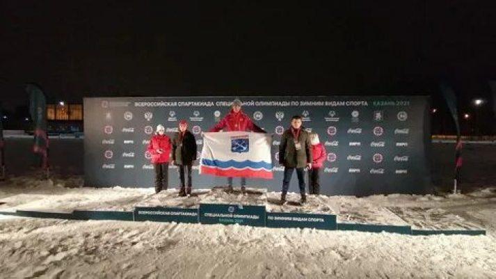 Лыжник из Сясьстроя - золотой медалист Всероссийской Спартакиады