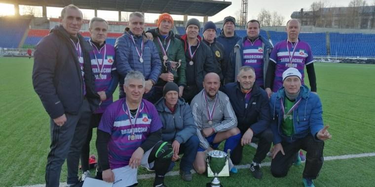 Ветераны футбола увезли победу из Петрозаводска