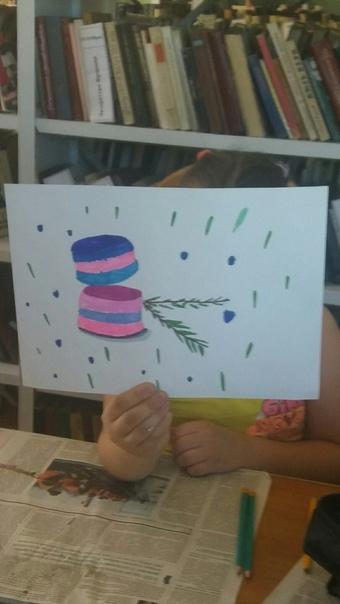 Рисуем макаруны
