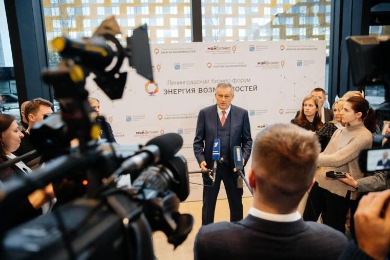 Александр Дрозденко посетил «Энергию возможностей» в Кудрово