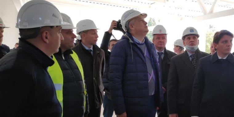 Александр Дрозденко доволен строительством