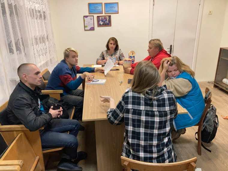 Заседание молодежного совета в Сясьстрое