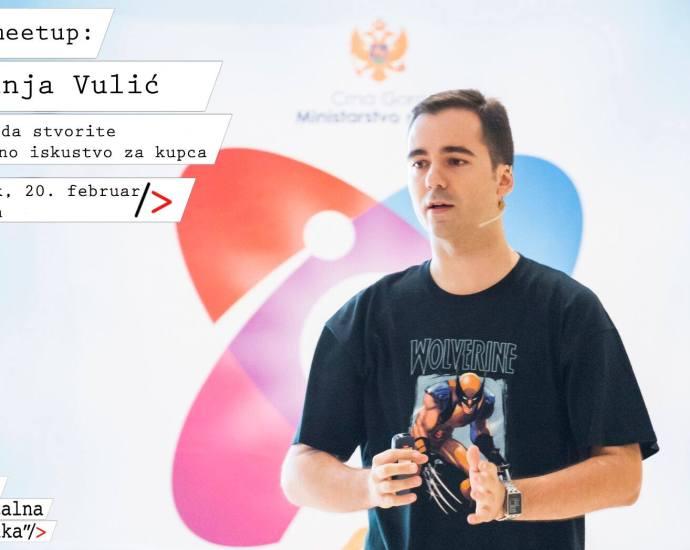 MeetUp sa Vanjom Vulićem