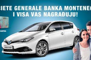 Societe Generale banka Montenegro i VISA nagrađuju