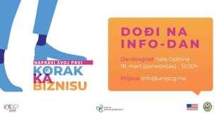 UMPCG: Info dan i preduzetnička radionica u Danilovgradu