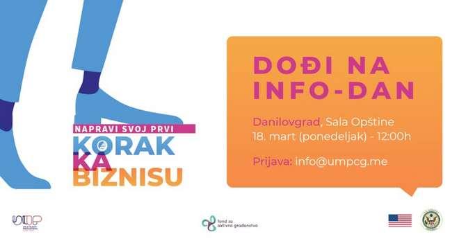 Info dan i preduzetnička radionica u Danilovgradu