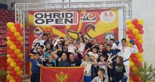 Karate klub ISKRA: 18 medalja na OHRID OPEN 2019