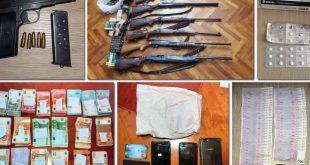 Zaplijenjena veća količina oružja, novca, opojnih droga…