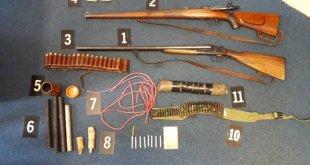 Danilovgrad: Oduzeto oružje, municija, eksploziv…