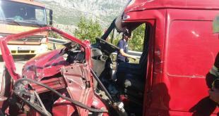 Saobraćajna nezgoda na Bogetićima: Jedna osoba povrijeđena
