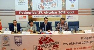 Uskoro 26. Podgorički maraton, polumaraton kreće iz Danilovgrada