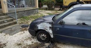 Martinići: Zapaljen automobil službenika obezbjeđenja UIKS-a