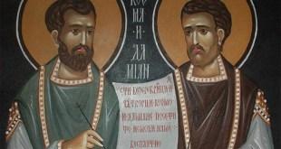 Danas su Sveti Vrači, Damjan i Kozma