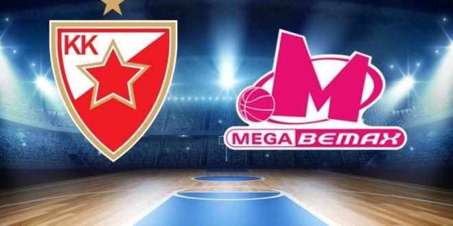 Košarka Mega Bemax Crvena Zvezda prenos uživo