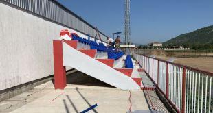 Pogledajte kako izgleda rekonstruisana tribina stadiona Iskre (FOTO)