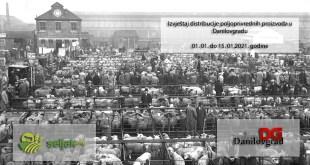 Seljak i VD: Izvještaj distribucije poljoprivrednih proizvoda u Danilovgradu