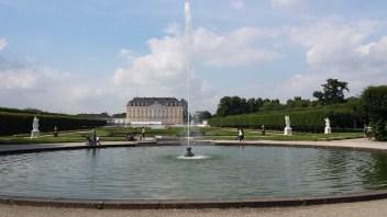 Brühl-Impressionen: Schloss Augustusburg mit Schlosspark (2)