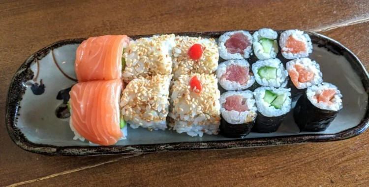 Sushi im Kofookoo