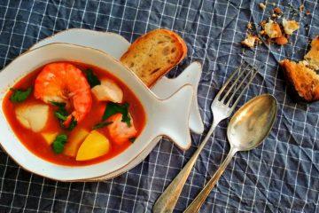 Caldeirada a Fragateiro - portugisische Fischsuppe
