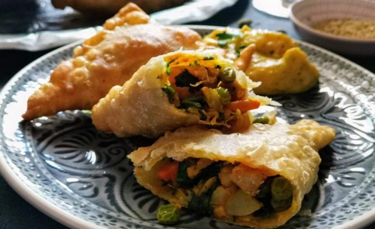 Lukhmi Indische Teigtaschen - vegetarisch