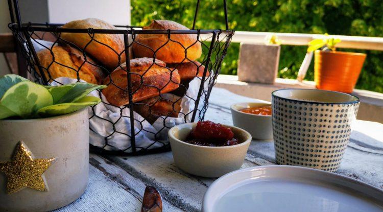 Orangen Möhren Sonntagsbroetchen