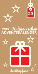 Kulinarischer Adventskalender 2019 - Tuerchen 23