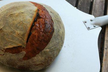 No Knead Kefirbrot - Mein erstes Brot mit Kefir-ganz