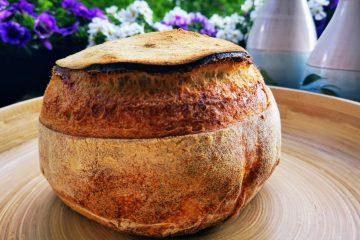 Pane di Altamura - italienisches Hartweizen Brot-ganz